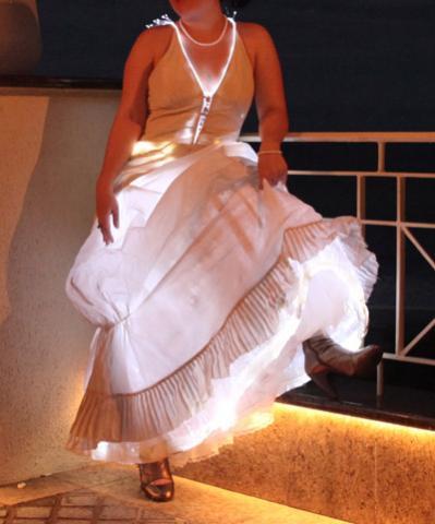 Lighted Dress MichaelSinterniklaas