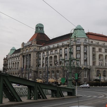 Budapest thermes Gelert