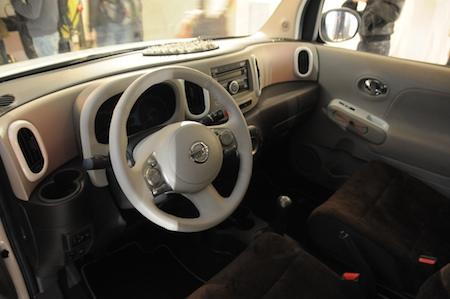 Nissan Cube intérieur