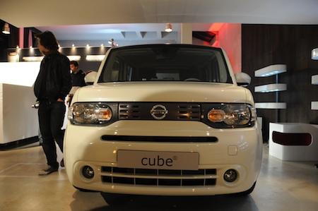 Nissan Cube design battle