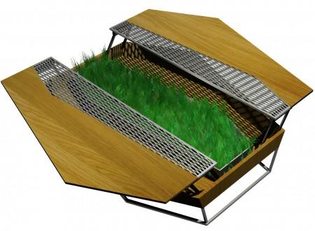 Table basse Un Jardin En Ville diisign