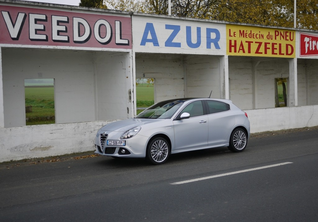 Alfa Romeo Giulietta 2014 essai