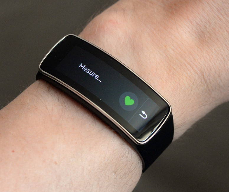Test Samsung Gear Fit