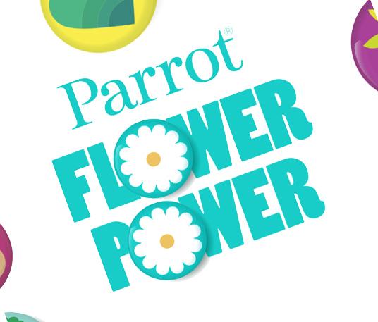 flower power Parrot