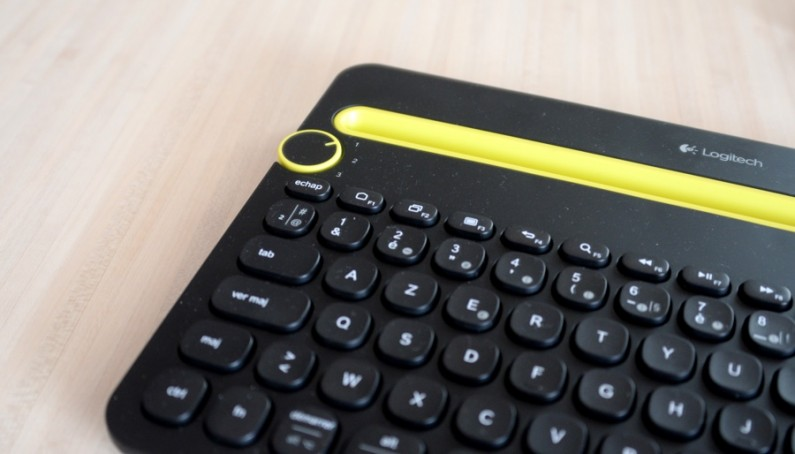 Logitech clavier K480 test