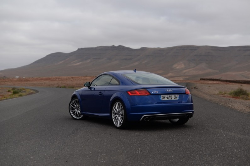 Essai Audi TTS coupé 2015