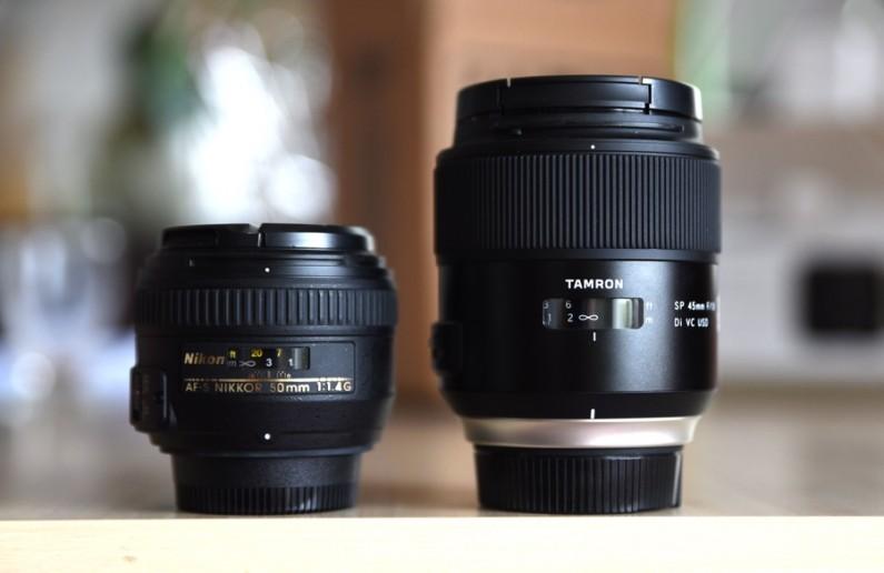 Test Tamron 45mm f/1.8