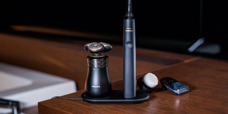 Philips Iconiq rasoir électrique design rétro