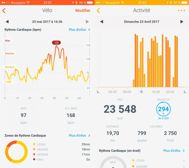 Withings steel hr test review health mate app