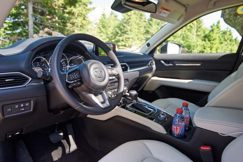 Essai Mazda CX-5 2017 test review intérieur