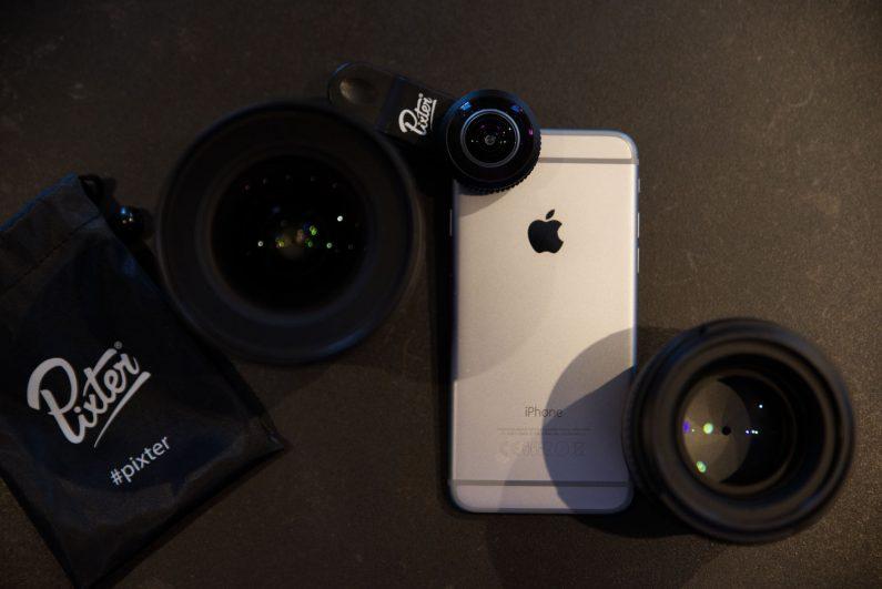 Essai Pixter objectifs iPhone