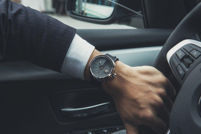 4D Concrete watch : une montre automatique en béton