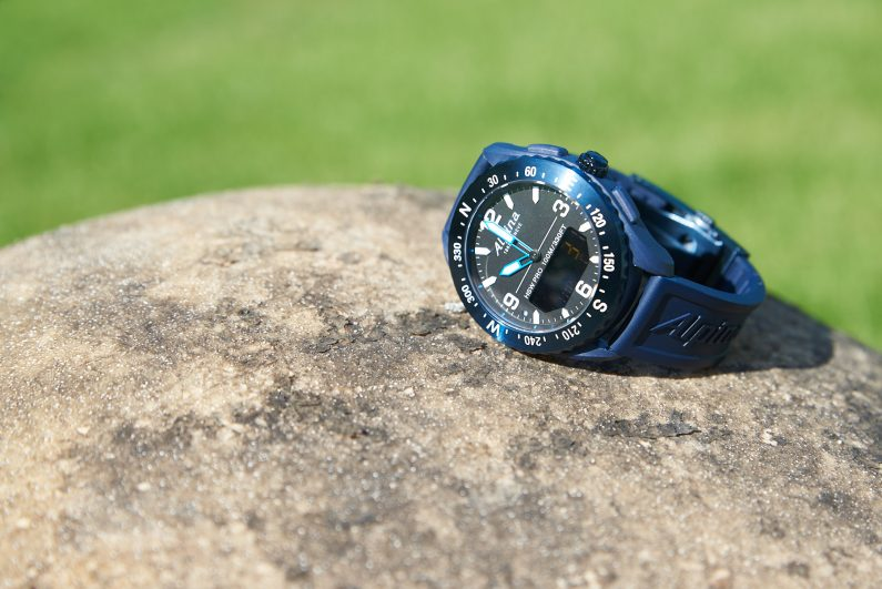 test alpina Alpiner X montre connectée aventure 45mm