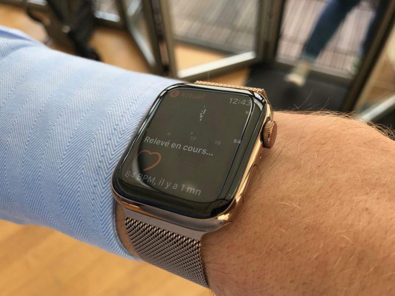 Apple Watch series 4 review test essai