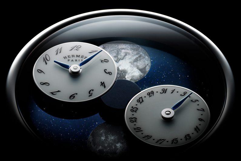 [SIHH19] Hermès Arceau l'Heure de la Lune : la phase de lune devient désirable