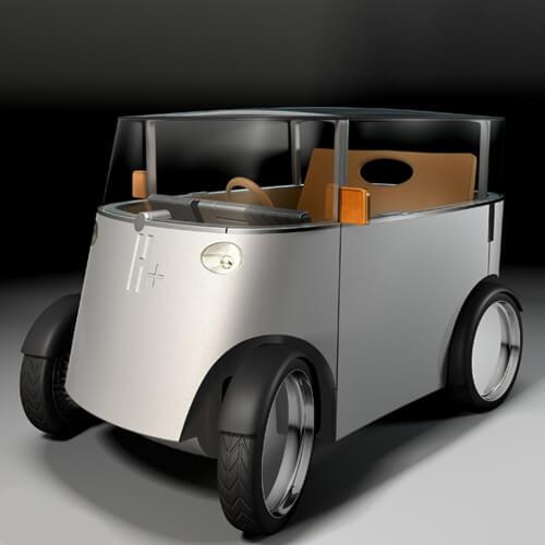 voiture hydrogène Starck