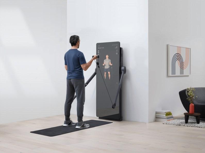 Forme Life : le miroir intelligent pour faire du sport à la maison, avec style