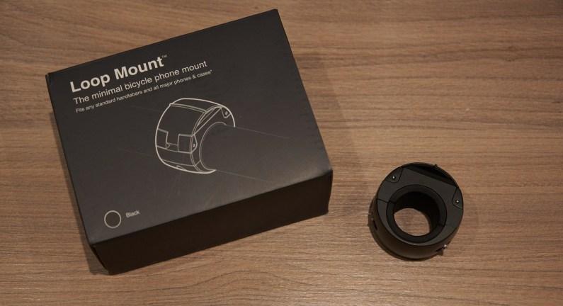 Loopmount test review essai suppor vélo design téléphone loop mount