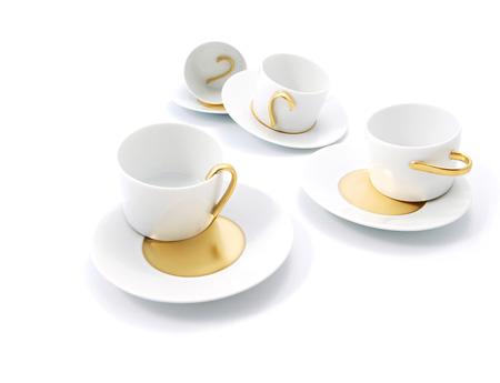 Tasses 5.5 designers pour Bernardaud