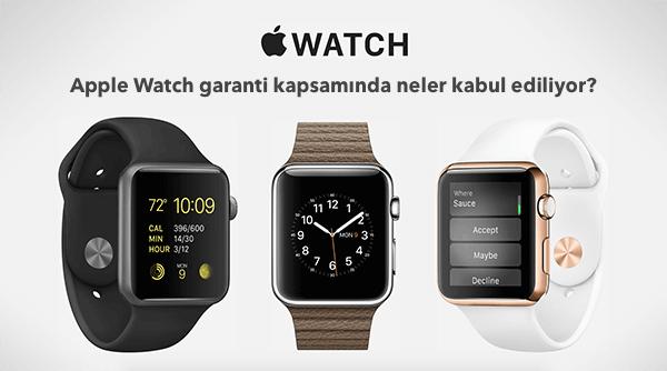 Apple watch garanti kapsamı