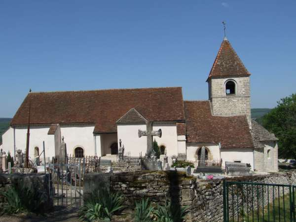 Eglise Reulle-Vergy ©CFwiki