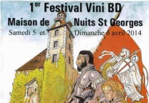 Salon Vini-BD: Nuits fait des bulles