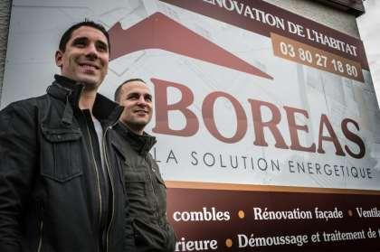 Pascal Isabey et Sébastien Cros, les deux co-gérants de l'entreprise Boreas © Clement Bonvalot