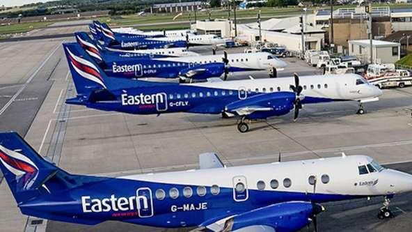 La compagnie Eastern Airways, habituée à faire plusieurs escales quotidiennes à Dijon devra trouver un nouveau point d'atterrissage © D.R.
