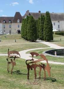 L'improbable bestiaire du château de Gilly