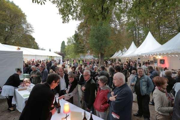 Show gourmand des restaurateurs de France_jardin arquebuse_édition 2013