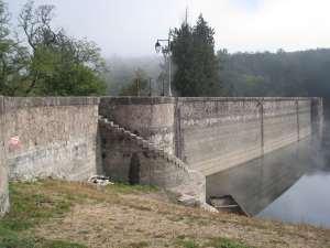 Le Lac de Pont bientôt à sec