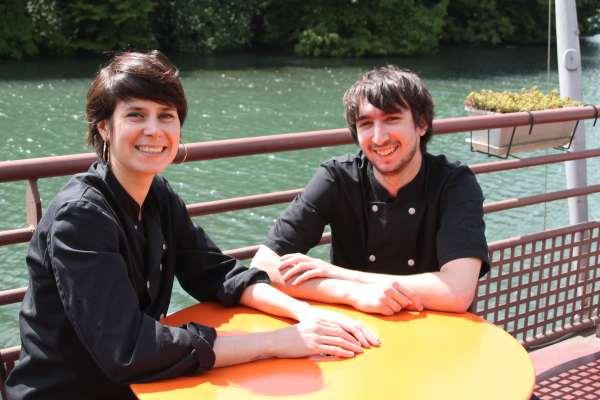Aurore Schaferlee et Simon Galley ©MG