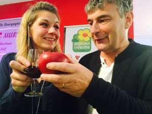 Monsieur «Mûre» et Mademoiselle «Pomme» sont sur la Foire