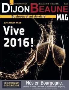 Dijon-Beaune Mag fête 2016 au pied de la lettre!