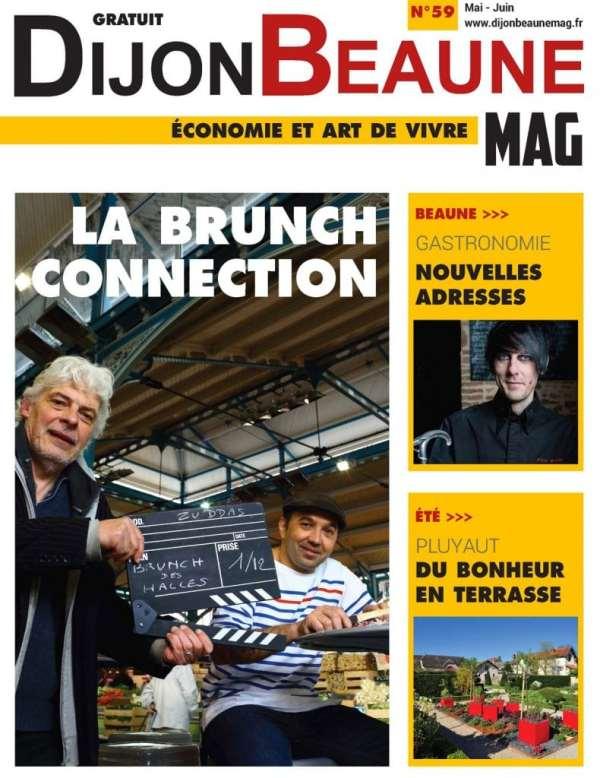 Couverture du nouveau Dijon Beaune Mag