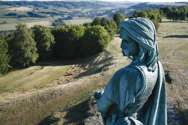 La statue de Vercingétorix par Balloade Photo