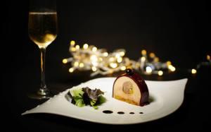 Et si on se faisait une bûche de foie gras à la bourguignonne?