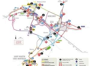 Découvrez le plan de la Saint-Vincent Tournante 2017 à Mercurey