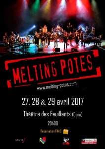 Melting Potes, ces Enfoirés dijonnais, reviennent au théâtre des Feuillants