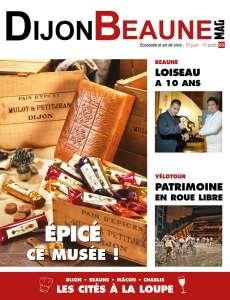 Feuilletez en avant-première le Dijon-Beaune Mag #65