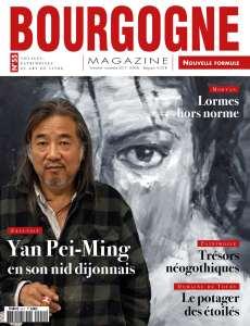 Exclu Bourgogne Magazine : dans l'atelier de Yan Pei-Ming