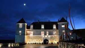Le château du Clos de Vougeot fête Noël à la cictercienne