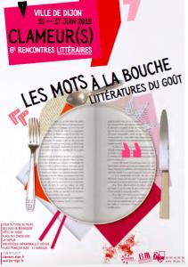 Clameur(s) : à Dijon, mets et mots au menu