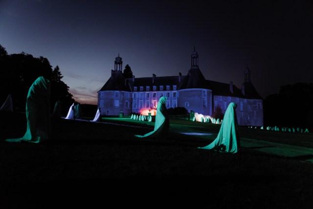 Spectacle historique du Château de Saint-Fargeau