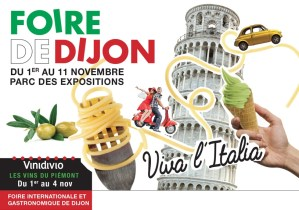 Foire de Dijon : l'Italie et Lucullus ont régalé
