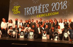 Trophées du Cerclecom : les lauréats 2018