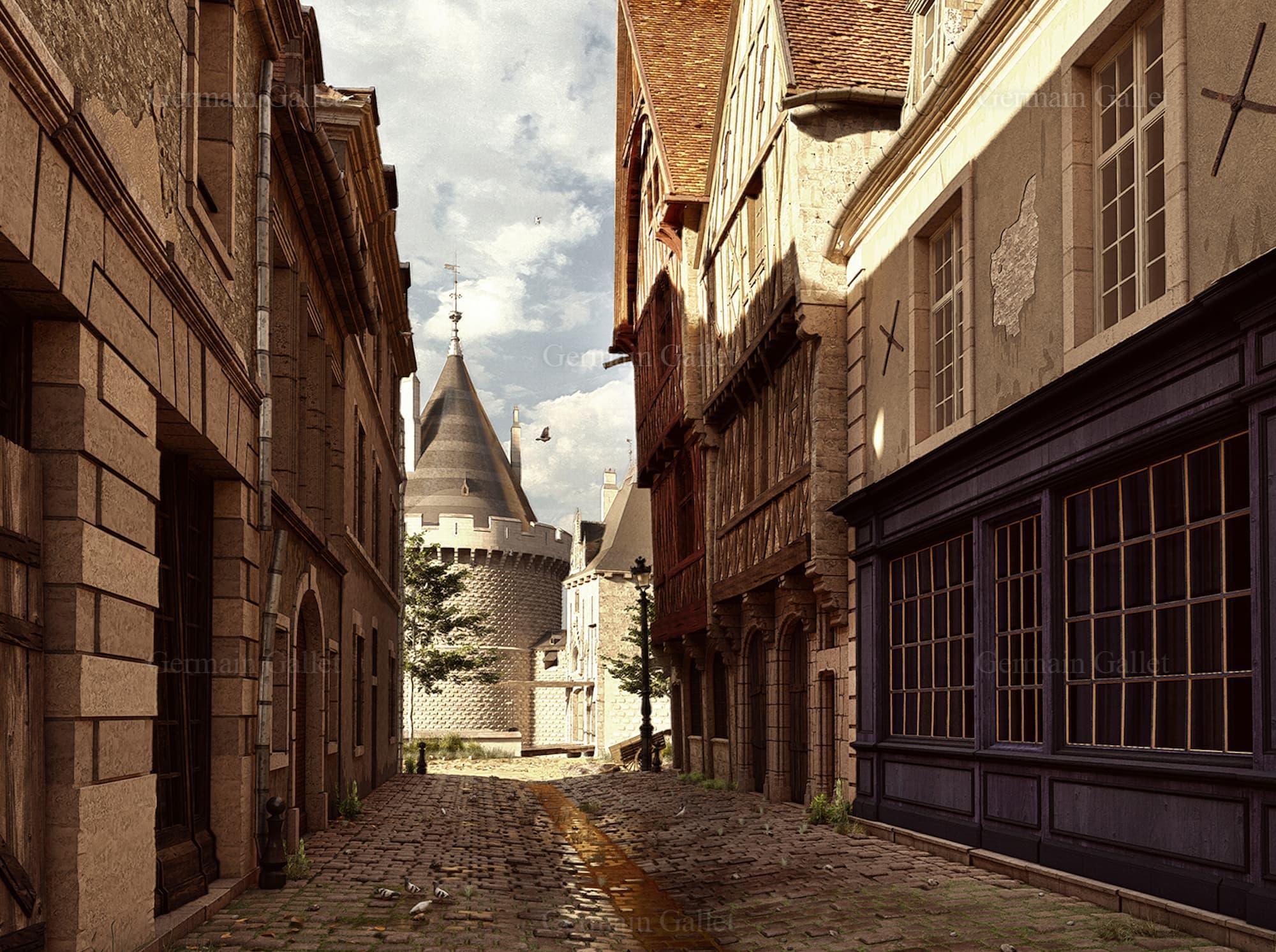 Château de Dijon, © Germain Gallet