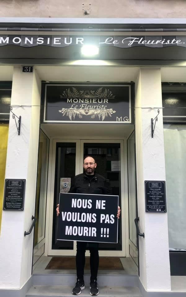Nous ne voulons pas mourrir, le cri des commerçants de Châtillon-sur-Seine