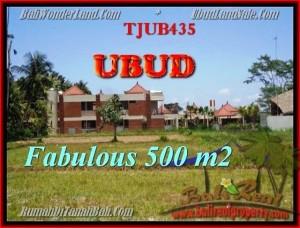 JUAL TANAH MURAH di UBUD 500 m2  View  sawah gunung link villa
