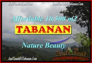 JUAL TANAH MURAH di TABANAN BALI 105 Are View gunung dan kebun